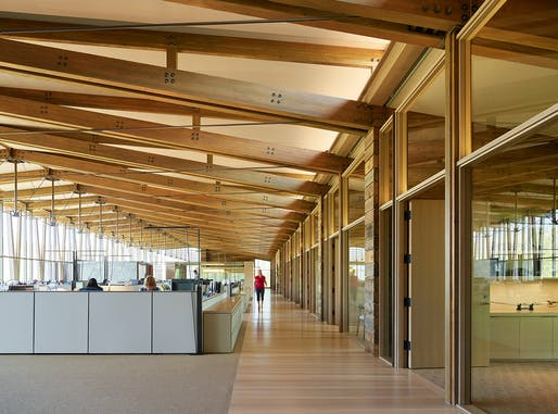 Washington Fruit & Produce Company Headquarters; Yakima, Washington by Graham Baba Architects. Photo: Kevin Scott.