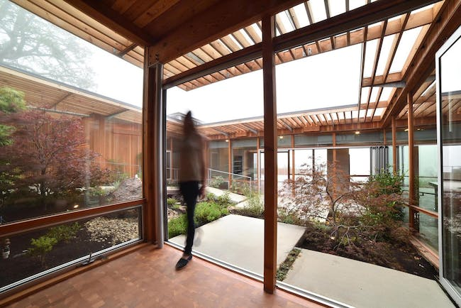 Phoenix House in Berkeley, CA by Anderson Anderson Architecture; Photo: Anthony Vizzari, Anderson Anderson Architecture