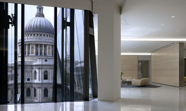 K&L Gates at One New Change; London, UK. Photo: Richard Bryant Architectural Photographer