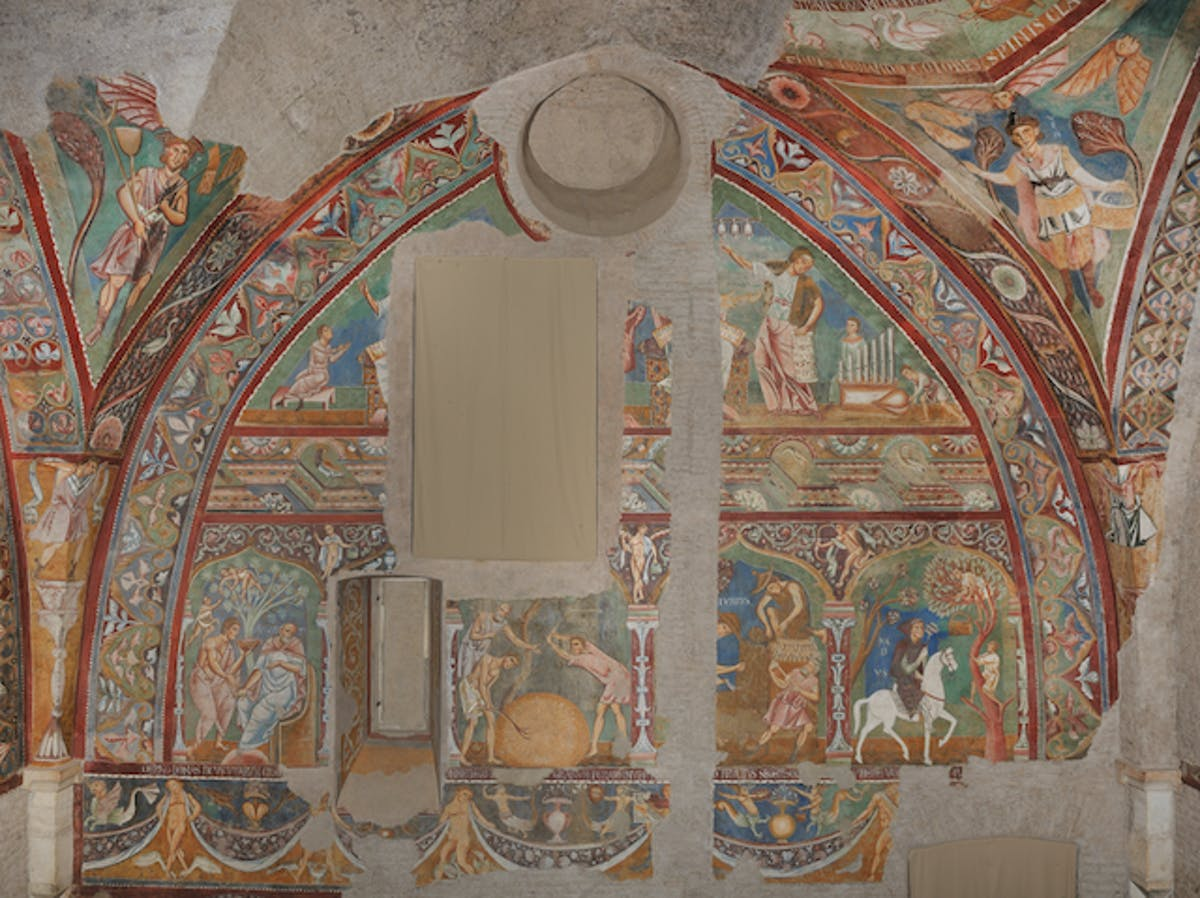 Archinect news articles tagged mural frescoes in rome display the use of political symbolism in medieval architecture and interior decoration amipublicfo Image collections