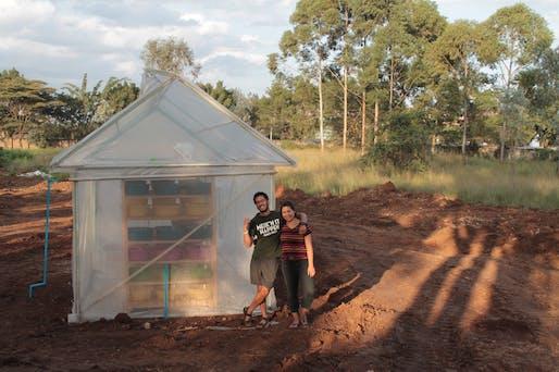 Kulisha prototype facility. Photo courtesy of the Buckminster Fuller Institute.
