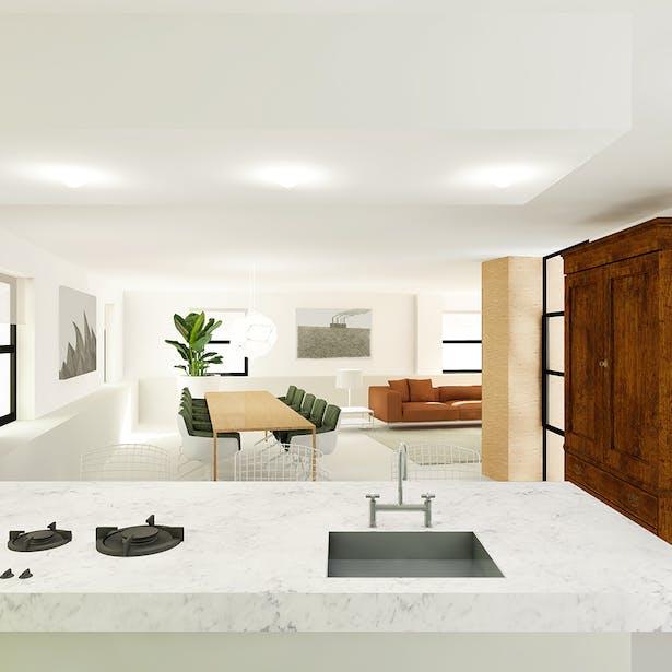 Keuken - Penthouse