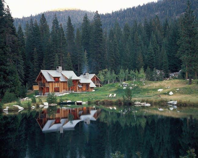 Wilderness Cabin by Walker Warner Architects. Photo courtesy Walker Warner Architects