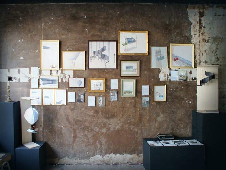 'Interiors of Memories' exhibition, photographed by Aad Hoogendoorn.