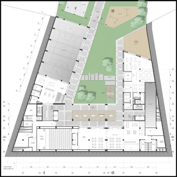 Park level plan