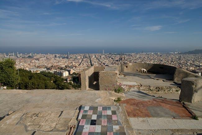 JOINT WINNER: LANDSCAPING OF THE PEAKS OF THE TURÓ DE LA ROVIRA, Barcelona (Spain), 2011 (Photo: Lordes Jansana)