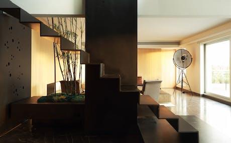 Staircase Remodel - modern light design