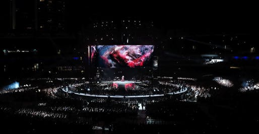 Adele 25 Stage in Australia, New Zealand, USA and the UK, by OPS Structures Ltd. Photo: OPS Structures Ltd.