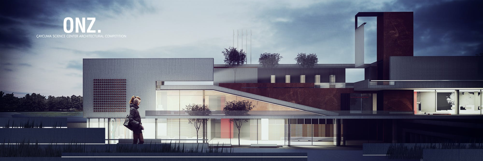 Verwonderlijk ONZ Architects won the 2nd Honorable Mention in Çaycuma Science PQ-85