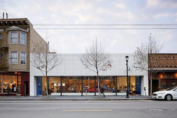 Street view facade