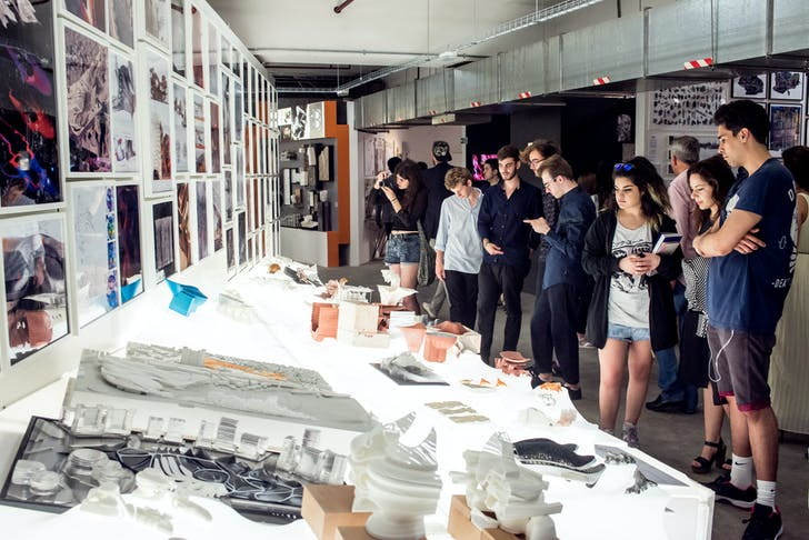 2016 Bartlett Summer Show featuring student work from MArch Architecture Unit 20. Credit: Stonehouse Photographic.
