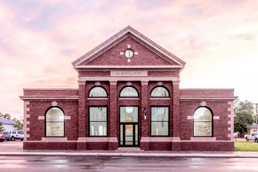 The Depot in Aberdeen, South Dakota. Restoration by CO-OP Architecture.