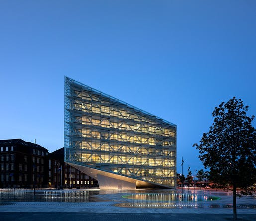 Winner of an Emirates Glass LEAF Award in the category 'Best Structural Design of the Year' 2011: The Crystal, Copenhagen by schmidt hammer lassen architects (Photo courtesy of schmidt hammer lassen architects)