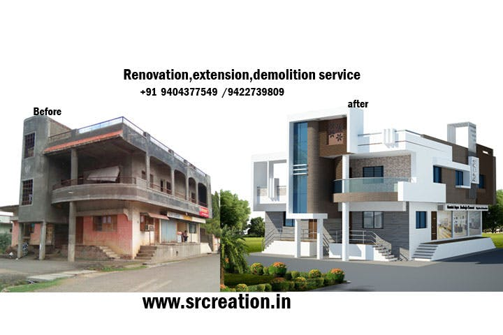 Renovation company in aurangabad badriprasad salve archinect exterior house renovation aurangabad india sisterspd