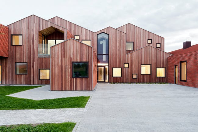 2015 Mies van der Rohe Award shortlisted project: Childrens Home of the Future in Kerteminde, Denmark by CEBRA. Photo: Mikkel Frost.