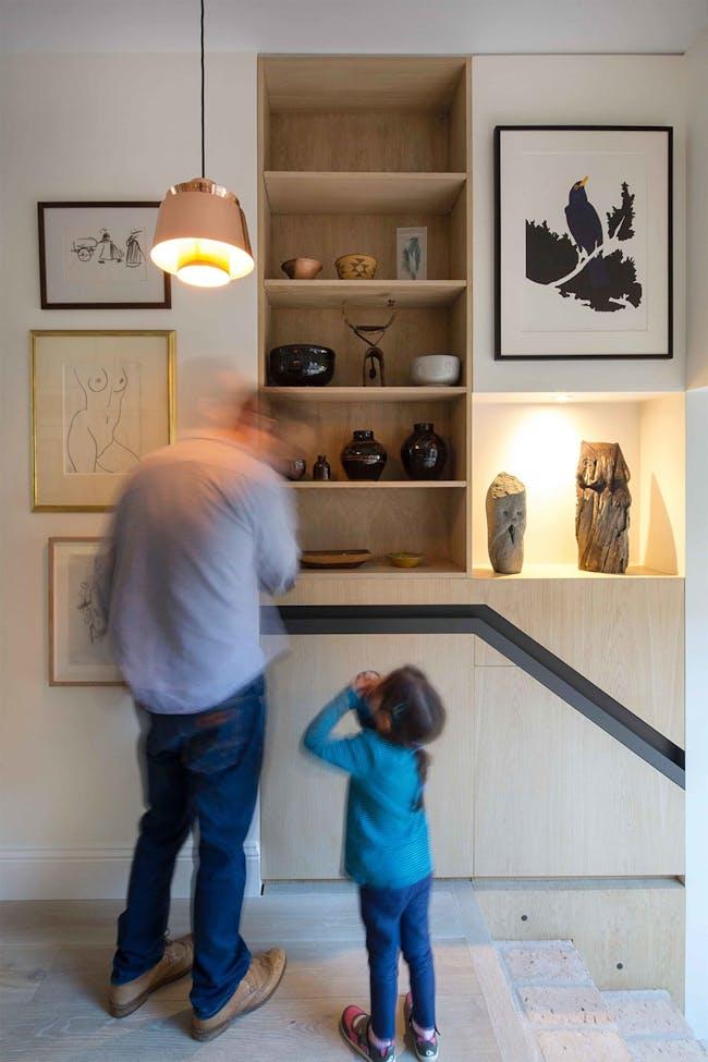 House in Hackney, Stoke Newington, UK by Neil Dusheiko Architects