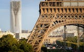 """MAD's Tour Montparnasse """"Mirage"""" turns the Eiffel Tower upside down"""
