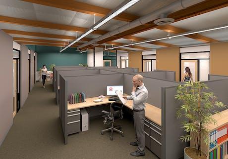 Tenant Improvement | Office Interior