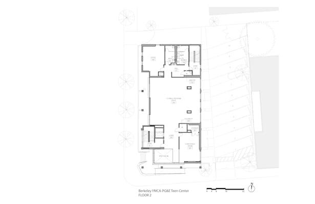YMCA-PG&E Teen Center (Floor Plan 2)