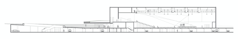 Multi purpose Hall in Aulnay sous Bois Brisac Gonzalez Architects Archinect # Pieces Auto Aulnay Sous Bois