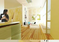 showroom/office design