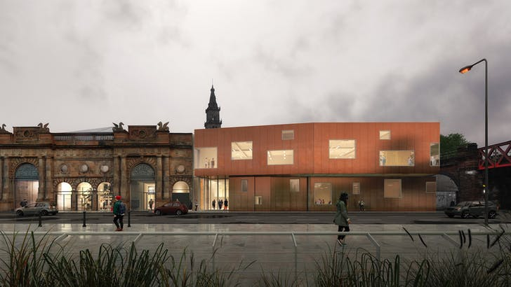 Rendering of Briggait Creation Centre, courtesy of Collective Architecture.