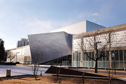 Minsheng Museum of Modern Art by Studio Zhu-Pei.