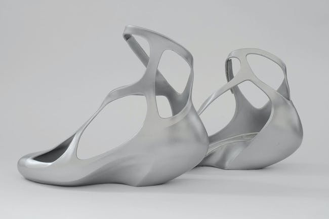 Melissa shoes designed by Hadid. Image by David Grandorge via ZHA