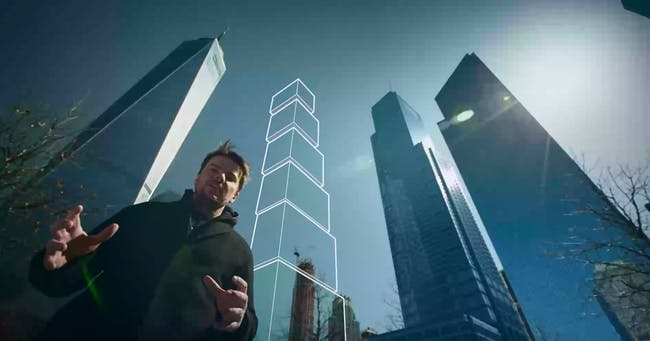 Still from promotional video by Squint/Opera