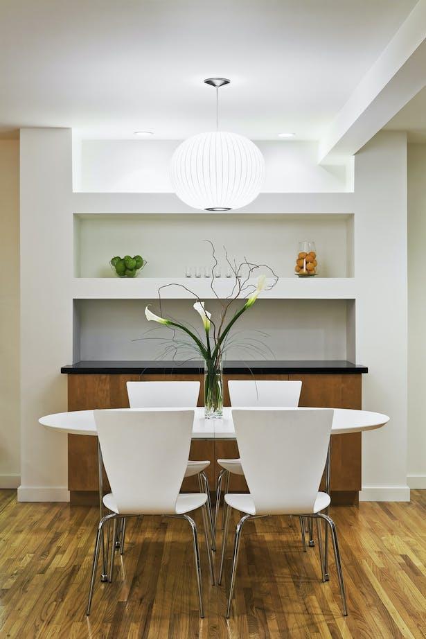modern remodel of west la bungalow | budget driven design. vibrant kitchen design | indoor-outdoor living | modern bathroom.