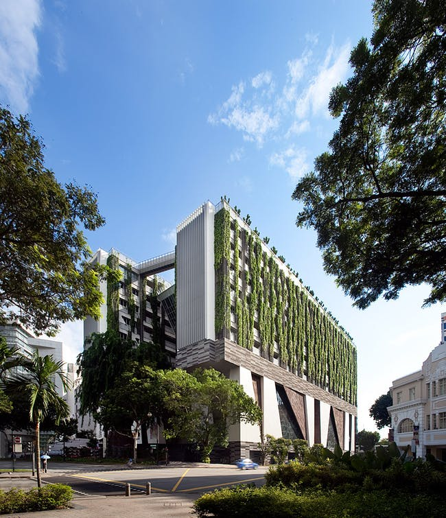 School of Arts in Singapore (Photo: Patrick Bingham-Hall)