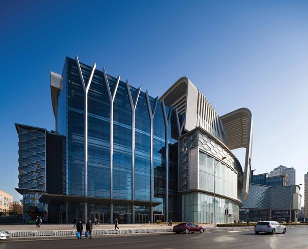 Olympia 66 in Dalian, China by Aedas - Exterior