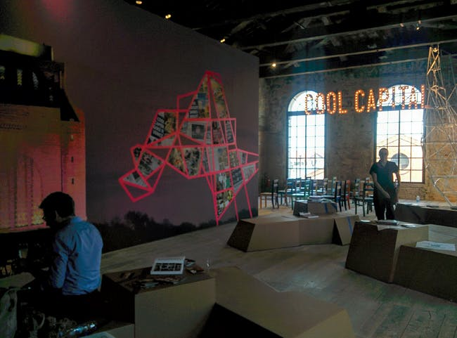 Cool Capital at the Venice Biennale. Photo by Laura Amaya.
