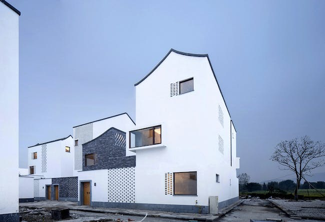 Contemporary Collective Living: New Forms of Affordable Housing for Relocalized Farmers in Hangzhou, China by gad