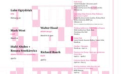 Get Lectured: RISD, Spring '15