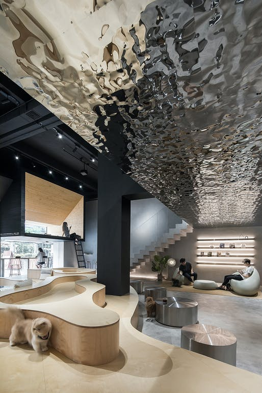 Meow Restaurant in Guangzhou, China by E Studio © E Studio