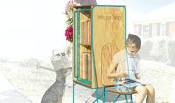 Clark Nexsen's Rachel Murdaugh Wins Chronicle Books' Choice Award in the Little Free Library Design Competition