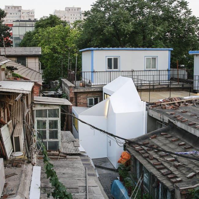 Finalist in 'Social Good Award:' Mrs. Fan's Plugin House in Beijing, China by People's Architecture Office