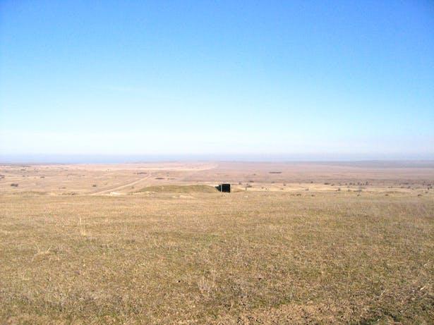 Site location in Babadag