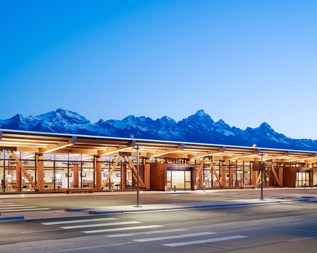 Jackson Hole Airport - Jackson, WY. Photo: Matthew Millman