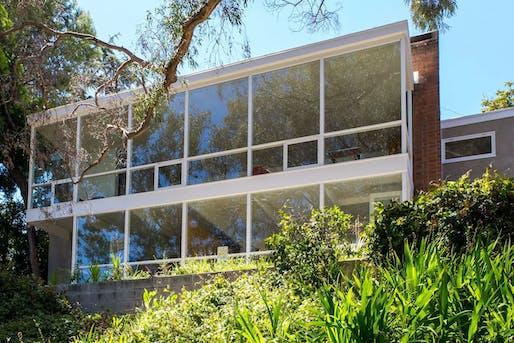 Greene Residence, Los Angeles, CA, Gregory Ain, Joseph Johnson, and Alfred Day, 1951-52. Photo © Janna Ireland.
