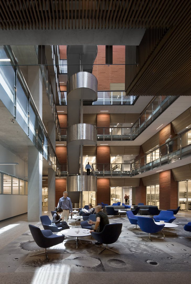 ASU School of Earth and Space Exploration. Courtesy of EYRC Architects.