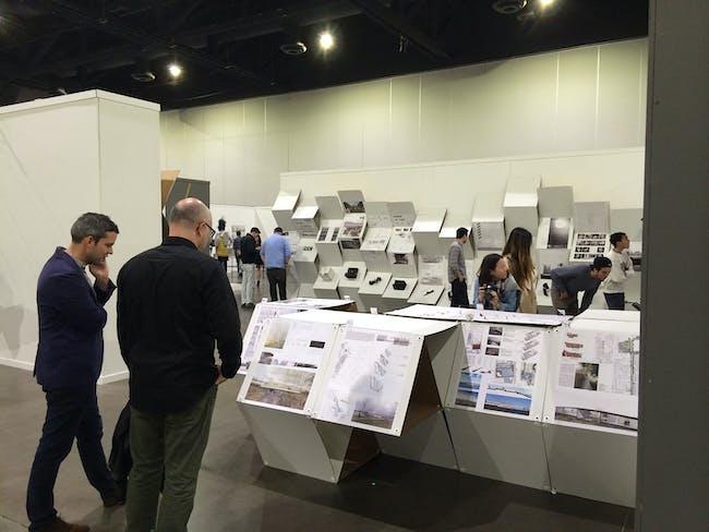 Thesis exhibit 2014. Image courtesy of RISD Interior Architecture Department.