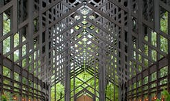 New photos of E. Fay Jones' Thorncrown Chapel unveiled to mark 35th anniversary