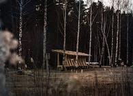 Lastu Shelter - Punkaharju Finland