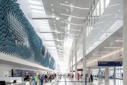O'Hare International Airport, Multi Modal Terminal by Ross Barney Architects. Image courtesy CODAawards