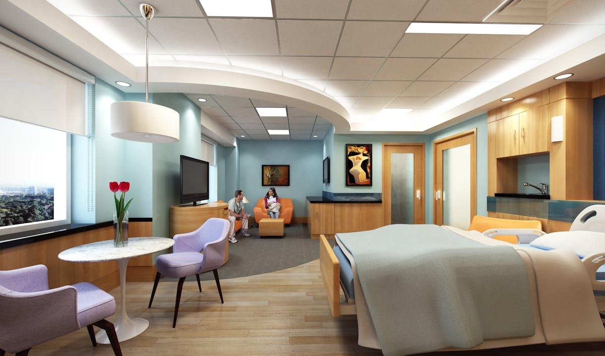 VIP Patient Wing - Mt  Sinai Hospital   Charles J  Nafie