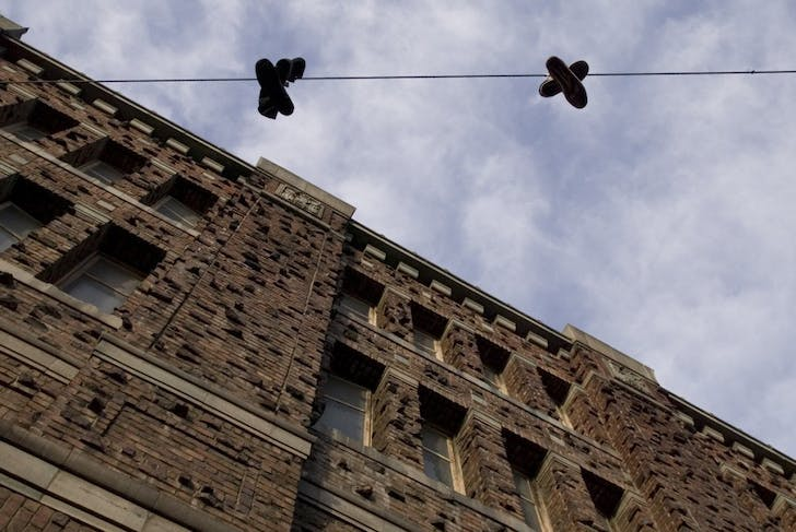 A view of some of the old brickwork on the Armory building. Image courtesy Kink.com