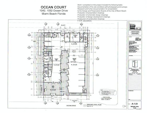 Ocean Court | Jennifer Slavik | Archinect