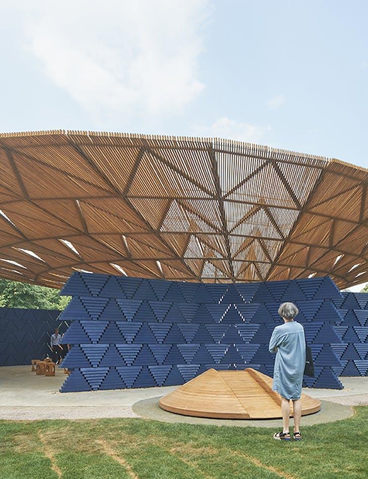 Serpentine Pavilion 2017 by Francis Kere